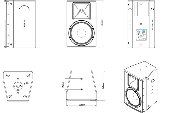 箱体结构图